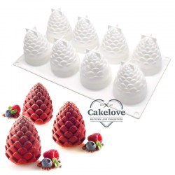/Amazon-Fashionable-3D-Christmas-Silicone-Pine-Cone копия